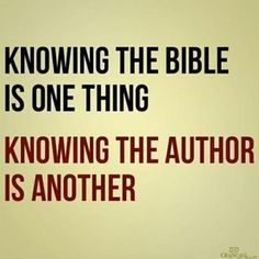 Knowing Bible Author